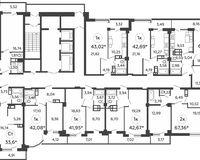 Типовой этаж литера 6