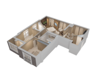 4-комнатная квартира 125.95 кв. м.