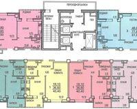 Секция В, этажи 2-9