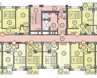 Секция Б, этажи 2-9