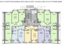 Типовой этаж, секция В