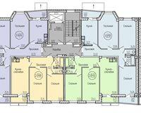 Типовой этаж, секция Б