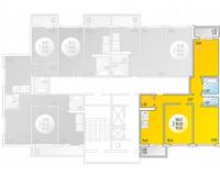 3-комнатная квартира 95.05 кв. м.