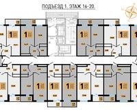 Литер 1, этажи 16-20