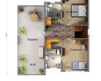 Дом «LADA» - 156,0 кв. м, этаж 2