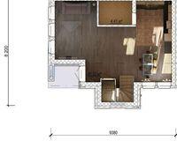 Дом «VICTORIA»- 99,94 кв. м, этаж 1