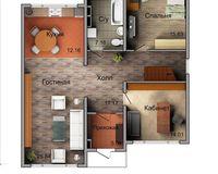 Дом «LADA» - 156,0 кв. м, этаж 1