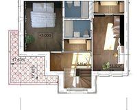 Дом «VICTORIA»- 99,94 кв. м, этаж 2