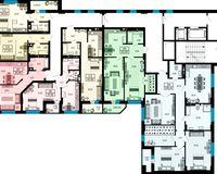 Дом 2, этажи 3-7
